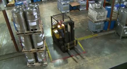 Forklift Safety: Industrial Counterbalance Lift Trucks