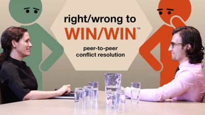 Right/Wrong To WIN/WIN: Peer-to-Peer Conflict Resolution