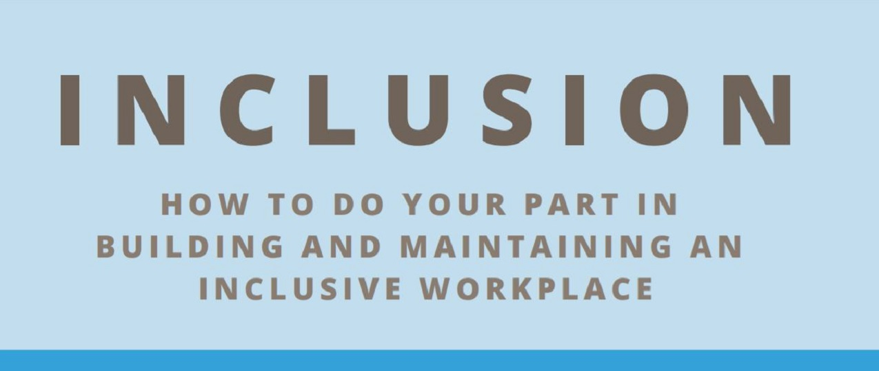 (Infographic) INCLUSION - The Part You Play