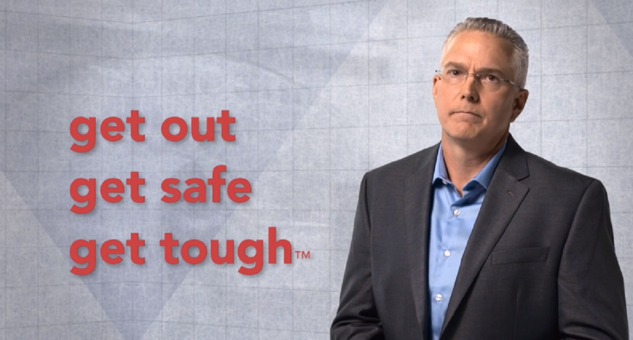 Get Out, Get Safe, Get Tough™ -- the New Language of Workplace Violence Survival