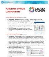 lead now purchase options
